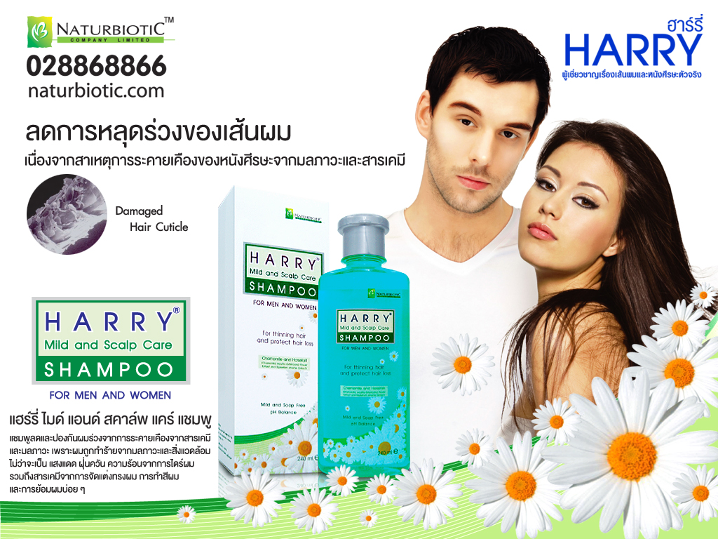 Harry Mild and Scalp Care Shampoo